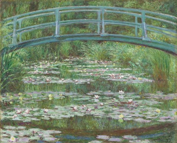 Monet's Japanese Footbridge