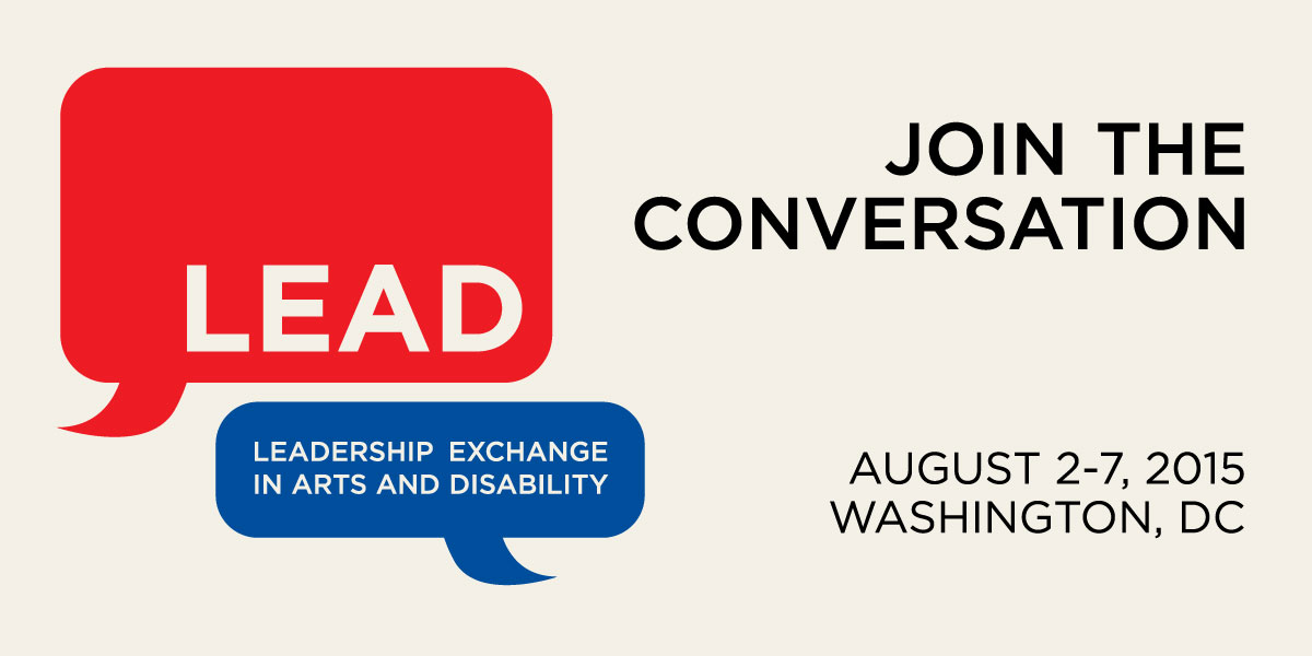 Horizontal Image: LEAD Conference: Join the Conversation.  August 2-7, 2015 in Washington, DC.