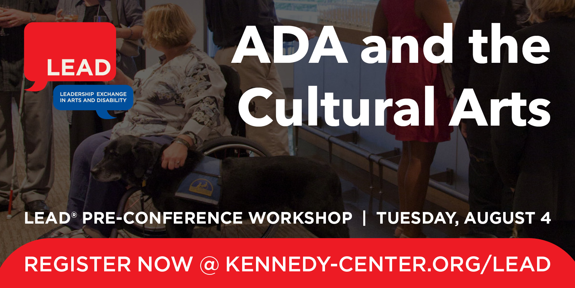 Pre-Conference Graphic: ADA and the Cultural Arts