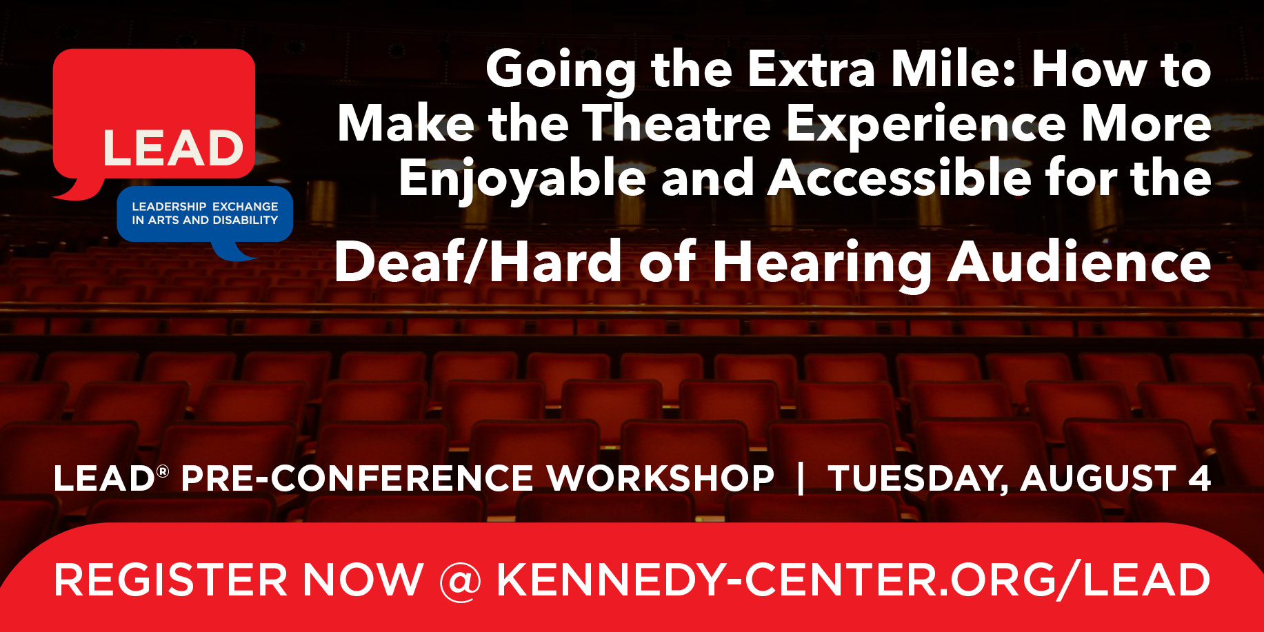 Pre-Conference Graphic: Deaf/Hard of Hearing Audience