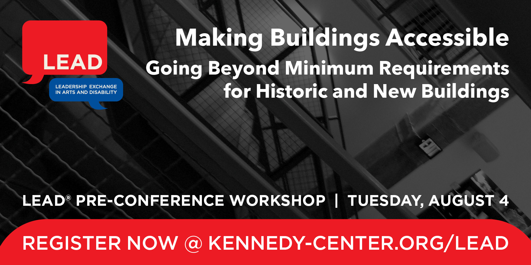 Pre-Conference Graphic: Making Building Accessible