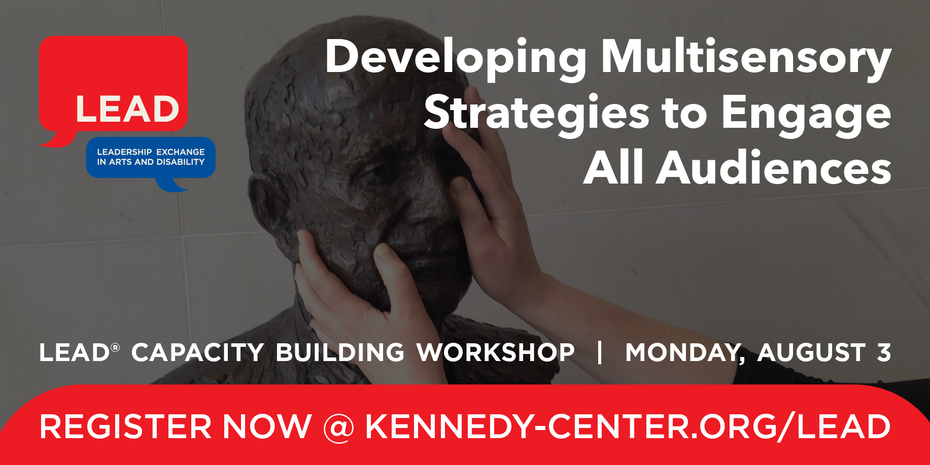 Pre-Conference Graphic: Developing Multisensory Strategies to Engaged All Audiences