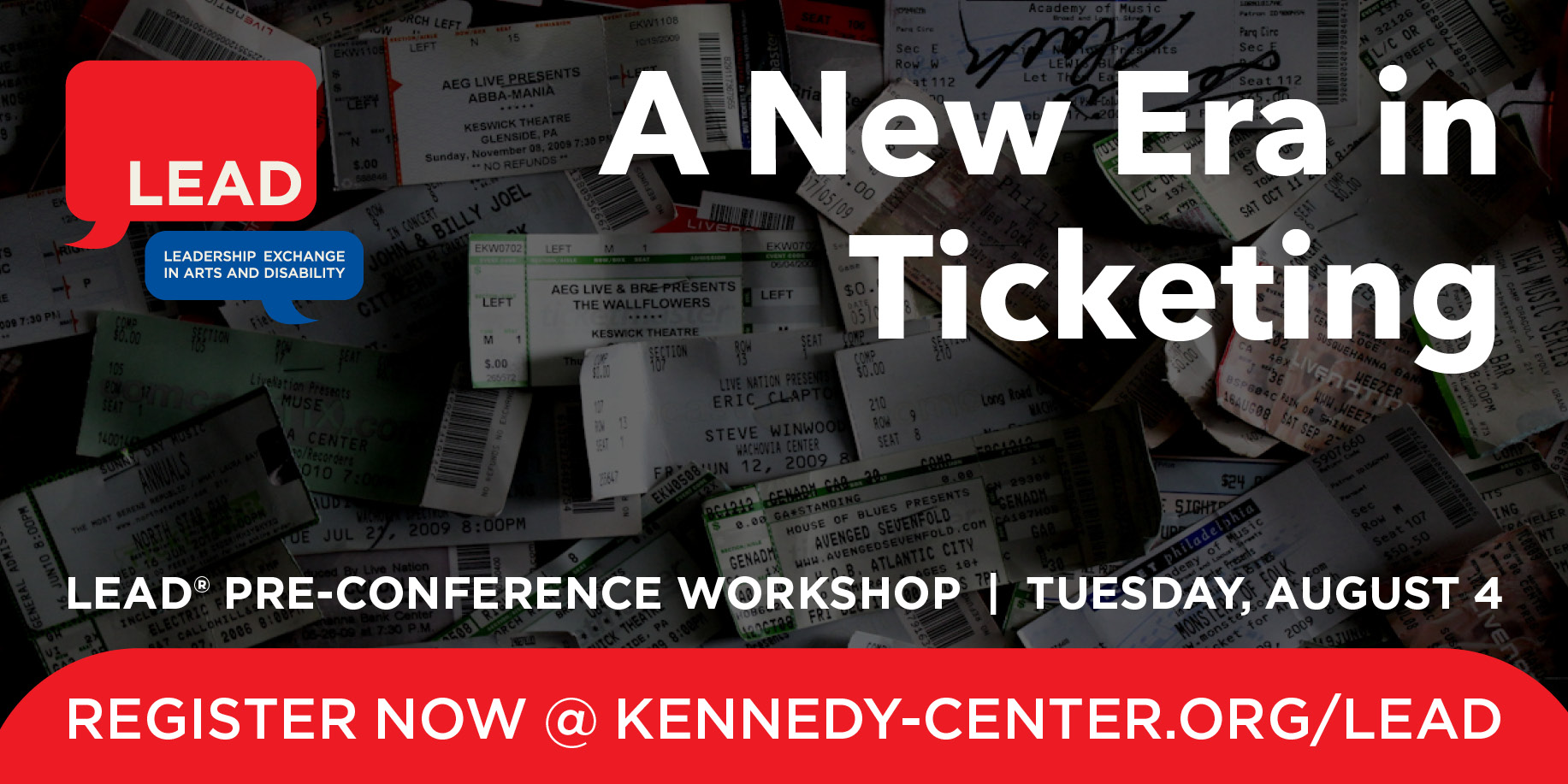 Pre-Conference Graphic: A New Era in Ticketing