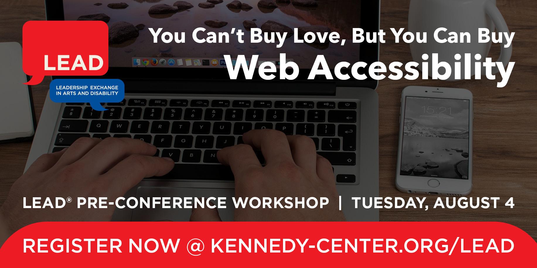 Pre-Conference Graphic: Web Accessibility