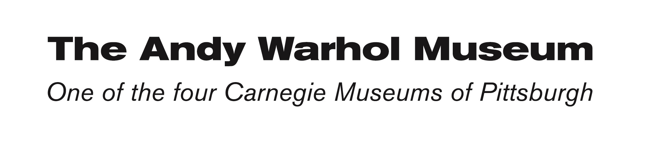 The Andy Warhol Museum, One of the four Carnegie Museums of Pittsburgh