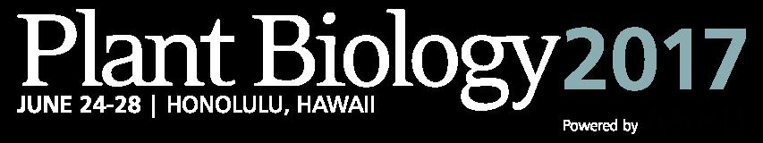Logo Plant Biology 2017