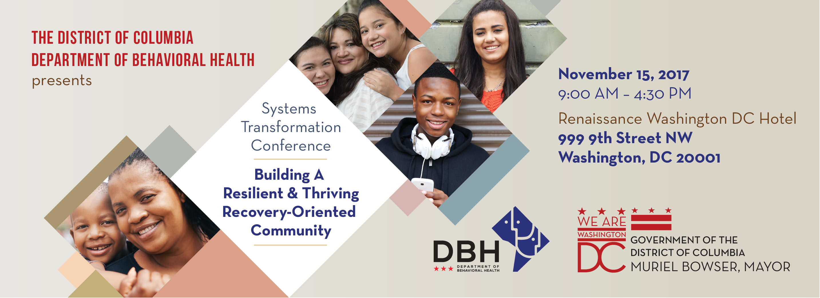 The Department of Behavioral Health provides prevention, intervention and treatment services and supports for children, youth and adults with mental and/or substance use disorders including emergency psychiatric care and community-based outpatient and residential services.