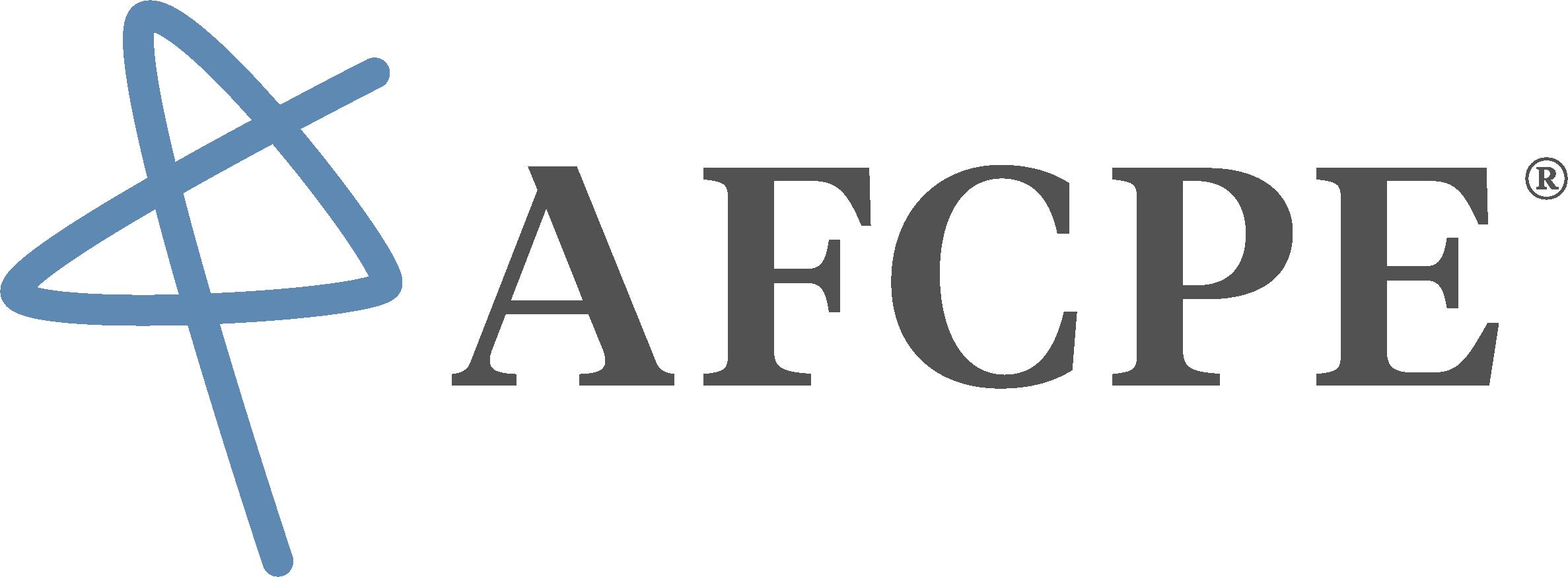Afcpe logo full 7a9af557fe1d664c0701c70ed0270ca9ba7bbdb704dbcb7cb5cfd682d6ef3e50