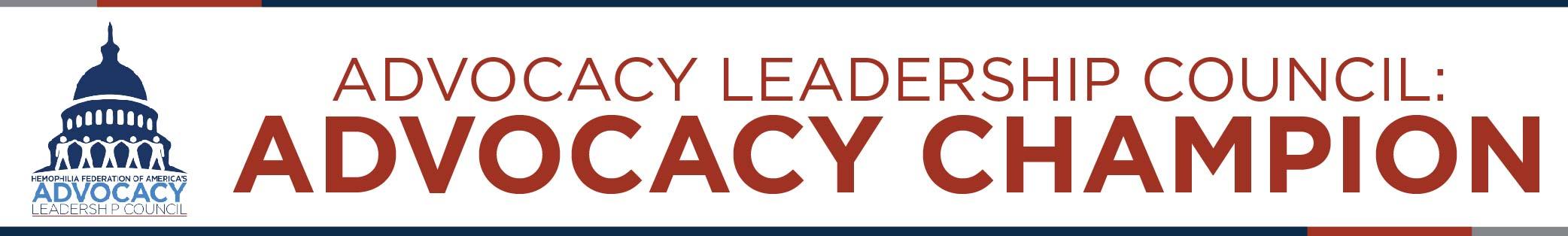 Advocacy Leadership Council_Advocacy Champion Application