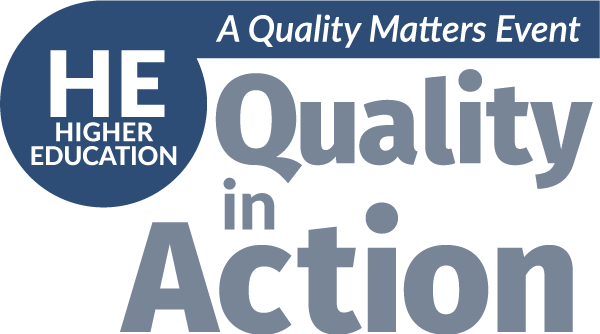 Higher Ed. Quality in Action Conference